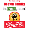 5% OFF at ALL Brown's ShopRite and Fresh Grocer Locations