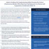 Interim Guidance for Implementing Safety Practices for COVID-19