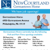 Job Openings at New Courtland Germantown Home