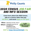 Philly Counts - 2020 Census Job Fair