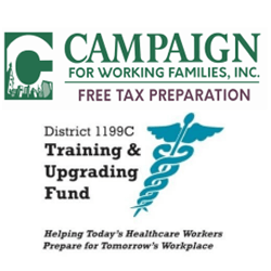Free Tax Services (walk in) @ District 1199C Training & Upgrading Fund, Breslin Learning Center